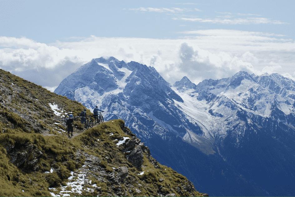 Inspiratie vanuit een bergpad